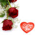 Valentine's day, happy couples, roses, hearts, chocolates, jewelry