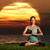 meditation, relaxation, zen-like, spiritual - nature and people images