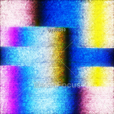 Abstract Grunge Background With Sparkles. The Combination Of Straight Lines And Color Transitions, With Bright And Dark Colors Stock Photo