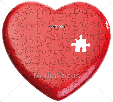 broken heart pictures. love heart jigsaw. Keywords: