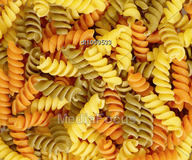 Italian Pasta Background. Food