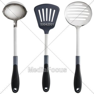 Stock Photo Kitchen Utensils Clipart - Image 53042001 - Kitchen Utensils