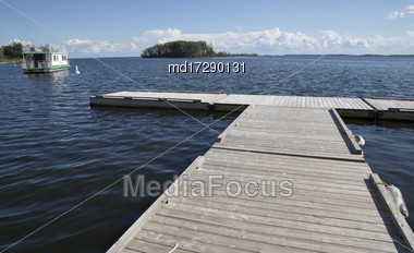 Northern Lake Saskatchewan Lac La Ronge Canada Stock Photo
