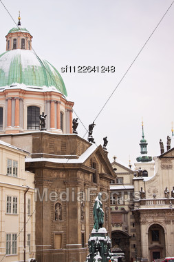 Prague city, one of the most beautiful city in Europe Stock Photo