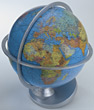 globus map Earth globe stock photo