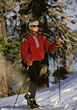 Skiing skiing exercise adult people women country stock photography