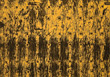 metal rusted backgrounds brown yellow rivets stock photography