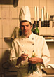 cook chefs kitchen profession male people stock photography