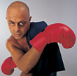 exercising fitness boxer male sport exercise stock image