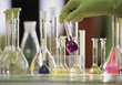 Scientific laboratory analysis research science analyze medical stock image