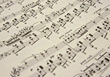 music paper backgrounds notes sheet musical stock image