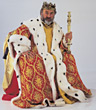 costumes royalty king Halloween stock photography