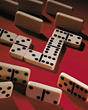 playing pieces tiles dominos game gambling stock photography