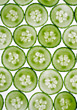 salad raw cucumber red slices sliced stock image