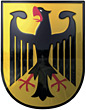 german armor Germany shield blazons stock image