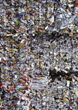 waste cans recycling metal compactor backgrounds stock photo