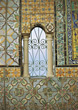 patterns window colorful column mosaic stock photography