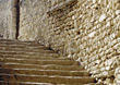 structure stairs stone architectural architecture rocks stock image