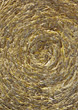 straw rolled background beige spiral stock image
