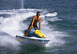 ski water male sports leisure vacations stock photo