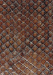 orange pattern backgrounds brown leather snakeskin stock image
