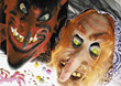 Mardi Gras masks stock photography