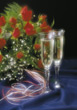 champagne bubbles symbolic alcoholic toast drinks stock image