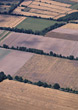 Landscapes patterns backgrounds farmland farming areal country stock image