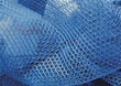 netting blue backgrounds fabric mesh stock image