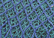 netting blue green backgrounds fabrics mesh stock image