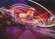 ride backgrounds effects special motion fair stock image