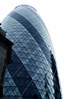 30 St Mary Axe (The Gherkin), London, England stock image