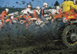 speed racing dirtbike motorcycle sport races stock image