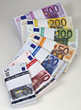 european banking EURO currency stock photo