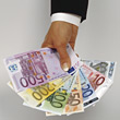 european banking EURO currency stock image