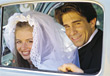 married weddings marriage bride people groom stock image