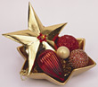 holiday xmas decoration ornament Christmas star stock image