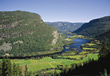 ponds lakes creeks rivers Norway stock photo