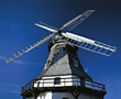 wind clean windmill energy stock photography