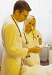 surgeon nurses patients physicians medical hospital stock photo