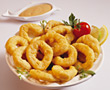 Calamari calamari fish plate fried cooked main stock photography