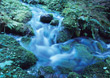 water stream nature spiritual waterfall stock photo
