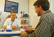 consultation examination patient medical surgeons listening stock photo