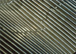 ridges metal backgrounds silver striped grey stock photo