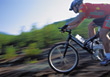 speed male sport race people bicycles stock photography