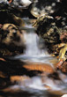 water nature spiritual brook waterfall creek stock photo