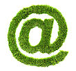 Internet Concepts 3d Grass Sign - Arobas stock photography