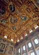 barock augsburg ceiling art Germany gold stock image