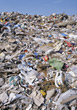 waste recycling trash landfill pollution garbage stock photo