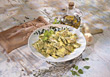 italian ravioli table pastas cooked main stock photography